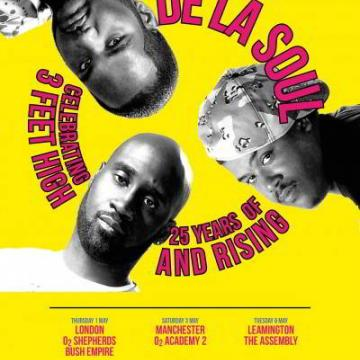 THE ONLY UK FESTIVAL DATE ON THE DE LA SOUL