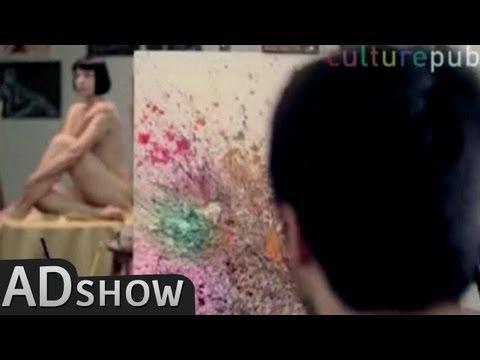 CulturePub - Sneezing abstract art: beautiful or disgusting?