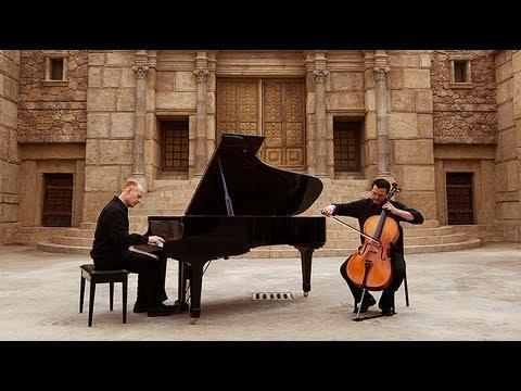 The Piano Guys - O Come, Emmanuel - (Piano/Cello)