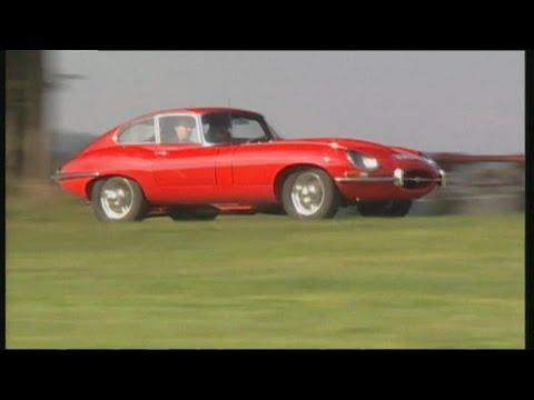 Jaguar E-Type - One of the most beautiful cars ever built