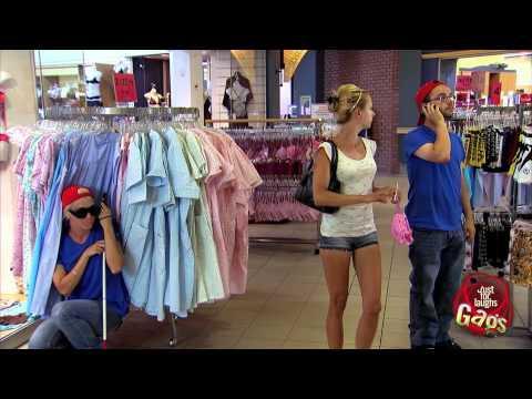 JustForLaughsTV - Valentine's Day Sexy Lingerie Shopping Prank