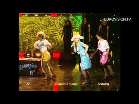 Anmary - Beautiful Song (Latvia) 2012 Eurovision Song Contest
