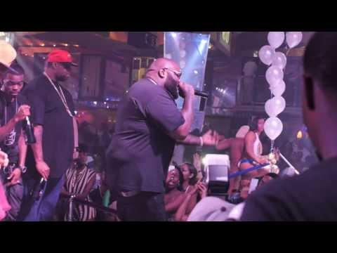 "Rick Ross ""Mastermind"" album release party @ King Of Diamonds"