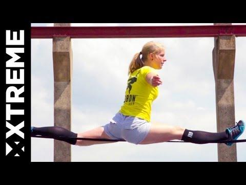 XTremeVideo - Elli - Epic Slackline Sessions