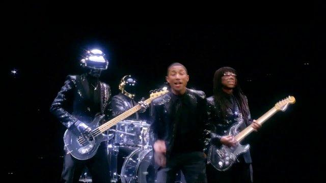Daft Punk - Get lucky feat Pharrell Williams (Live)