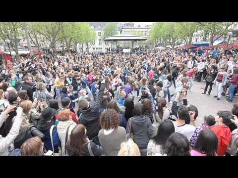 Journée international de la Danse 2011 - Flashmob danse Place d'Armes Luxembourg 2011