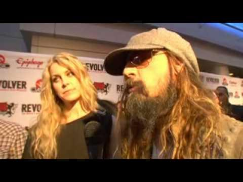 Rob Zombie - 2010 - Revolver Golden God Black Carpet Coverage - Murderdolls