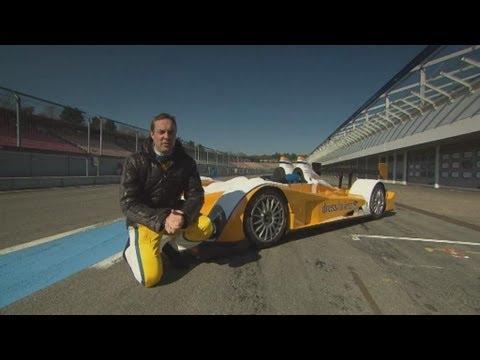 Patrick Simon - Patrick Simon im Le Mans-Rennwagen