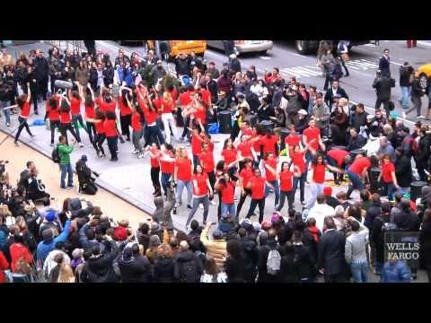 Flash Mob - Wells Fargo Flash Mob -- Times Square
