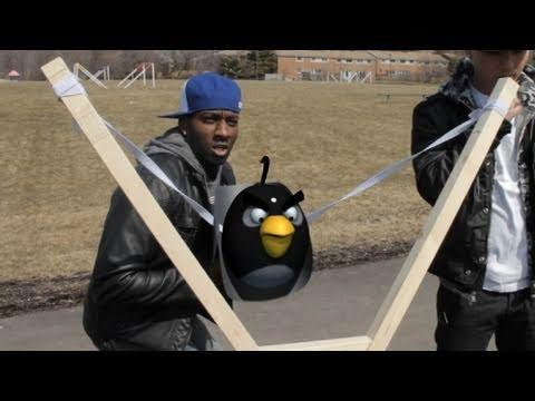 Angry Birds Real Life - Angry Birds Real Life - Interactive (DeStorm)