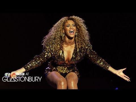 Beyonce - Glastonbury - Irreplaceable (BBC)