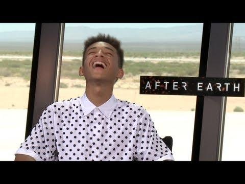 AFTER EARTH - AFTER EARTH Interviews: Jaden Smith and Will Smith