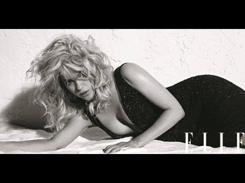 Shakira - Behind the scenes at Shakira's ELLE cover shoot (on stands now!)