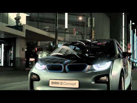 BMW i - Born Electric. The BMW i3 Concept & BMW i8 Concept