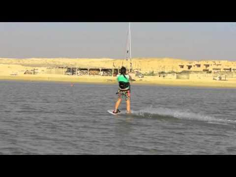 Kate O'Beirne - Kitesurfing in Egypt