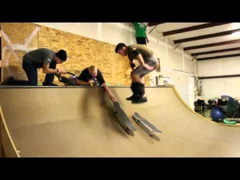 Salto - Changer de skate avec un salto