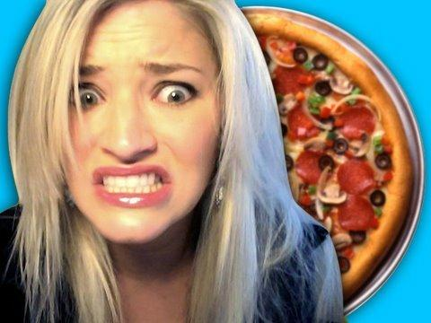 ijustine - I WANT A PIZZA!!!
