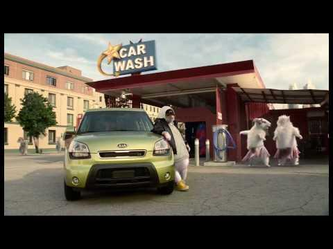 Soul Hamster - 2010 Kia Soul Hamster Commercial | Black Sheep Kia Hamsters Video