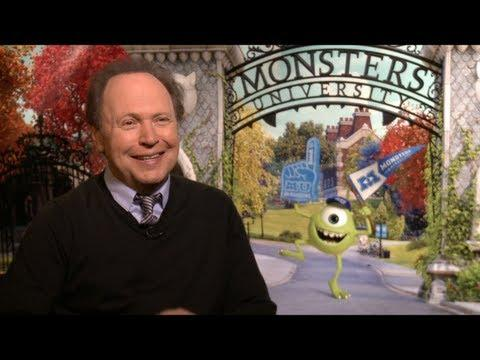 MONSTERS UNIVERSITY - MONSTERS UNIVERSITY Interview: Billy Crystal