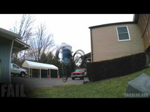 Landing - Landing a Trick FAIL