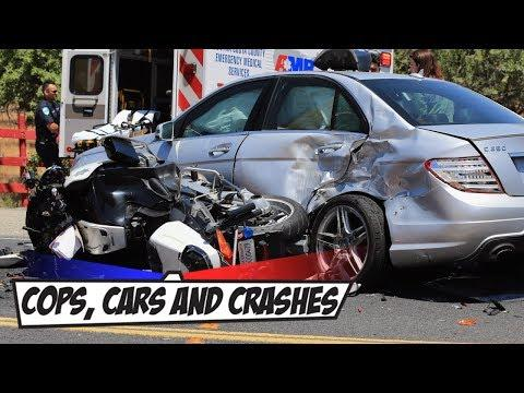 Insane Car Chase! Shots Fired | Cops, Cars & Crashes