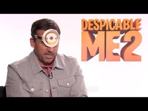 DESPICABLE ME 2 - DESPICABLE ME 2 Interviews: Steve Carell, Kristen Wiig and Benjamin Bratt