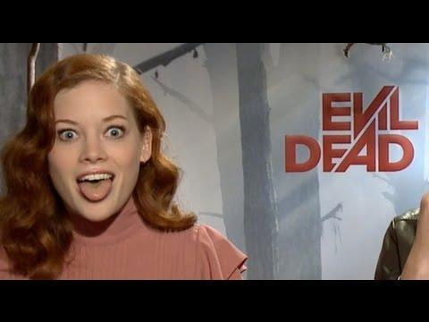 EVIL DEAD - EVIL DEAD Interviews: Jane Levy, Shiloh Fernandez, Jessica Lucas and (Director) Fede Alv