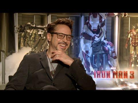 IRON MAN 3 - IRON MAN 3 Interviews: Robert Downey Jr, Gwyneth Paltrow, Ben Kingsley, Don Cheadle and