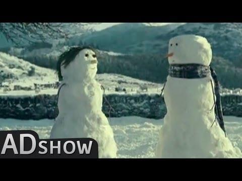 CulturePub - Romantic love at Christmas: Snowman