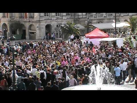 croix-rouge Française - Flash mob croix-rouge Française Orléans