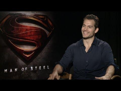MAN OF STEEL - MAN OF STEEL Interviews: Henry Cavill, Amy Adams, Michael Shannon, Kevin Costner, Zac