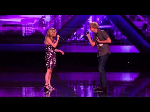 Makenna & Brock - Audition 1 - THE X FACTOR 2011