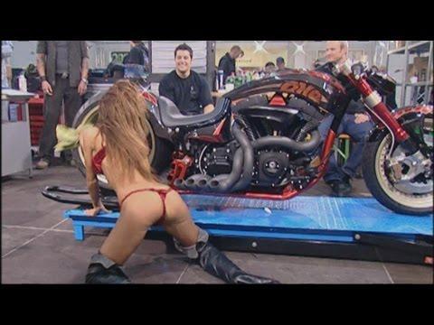 Custom Bike Show - First european Bike build-off at the custom bike show.