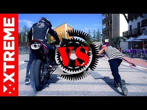 XTremeVideo - STUNT I Sportbike Vs Free running I Episode 3
