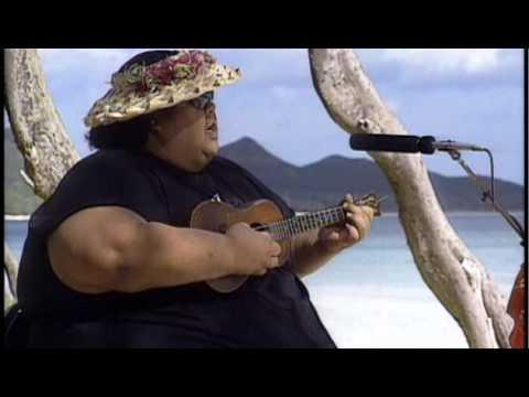 "Israel ""IZ"" Kamakawiwo?ole - White Sandy Beach Video OFFICIAL"