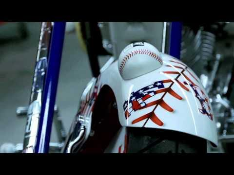 Stars and Stripes - Building the Stars and Stripes Bike