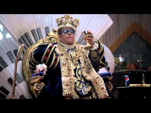 Elton John ft.Melanie Amaro - King's Court Super Bowl