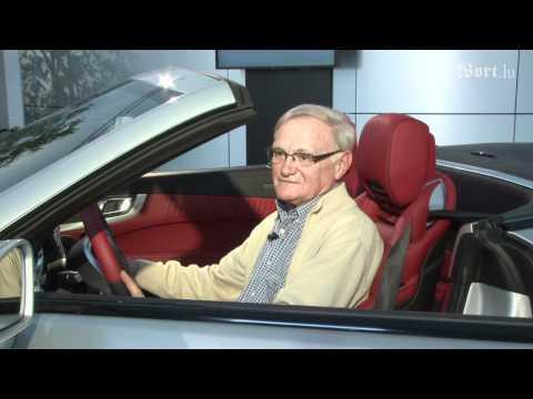 Wort Luxemburg Der neue Mercedes SL - Henri Leyder ist nicht nur von der Soundanlage begeistert...