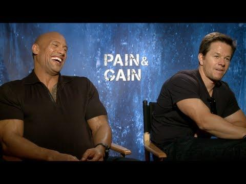 PAIN&GAIN - PAIN&GAIN Interview: Mark Wahlberg, Dwayne Johnson, Anthony Mackie, Tony Shaloub, Ken Je