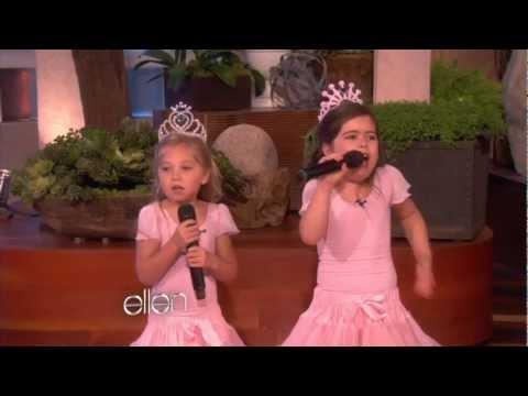 Sophia Grace's Show - Nicki Minaj Sings 'Super Bass' with Sophia Grace (Full Version)