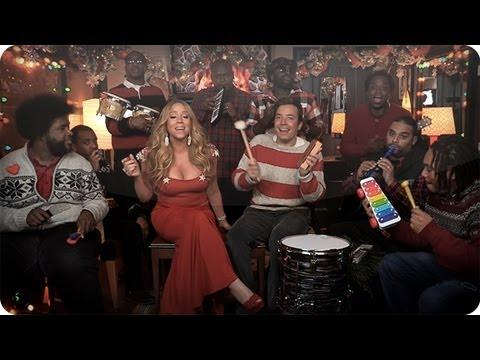 Jimmy Fallon, Mariah Carey & The Roots - All I Want For Christmas Is You