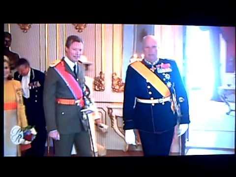Visite d'Etat des Grand-ducs - Luxembourg au Royaume de Norvège
