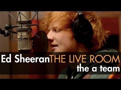 Ed Sheeran - The A Team - captured in The Live Room