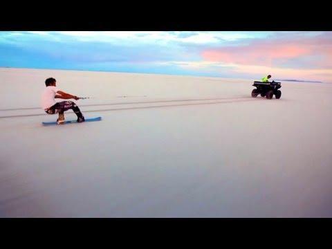 Salt Boarding - Blank Snowboards