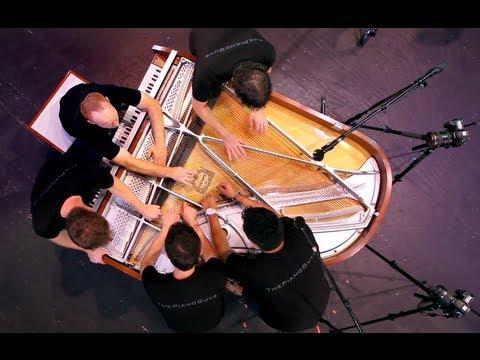 ThePianoGuys - One Direction - What Makes You Beautiful (5 Piano Guys, 1 piano) - ThePianoGuys
