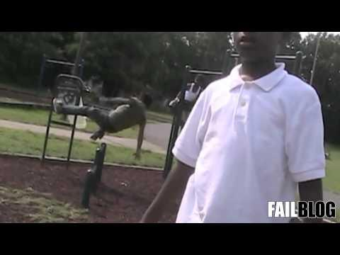 FAIL - FAIL Blog: Monkey Bar Dismount FAIL