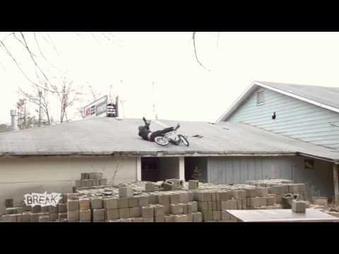 Landing Fail - Roof Jump Landing Fail