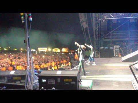 eminem - Dido Joins  For Stan At Leeds Festival 2013