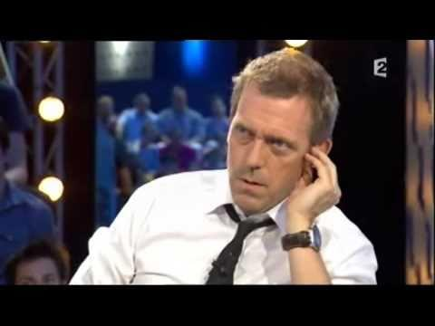 Hugh Laurie - On est pas couché - Hugh Laurie Part 1