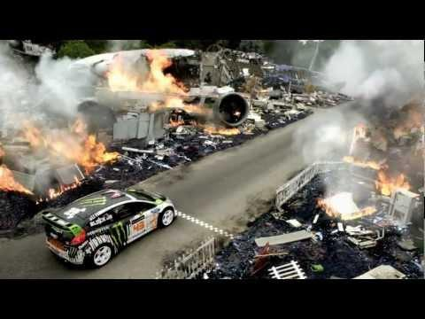 DC SHOES - KEN BLOCK'S GYMKHANA FOUR; THE HOLLYWOOD MEGAMERCIAL
